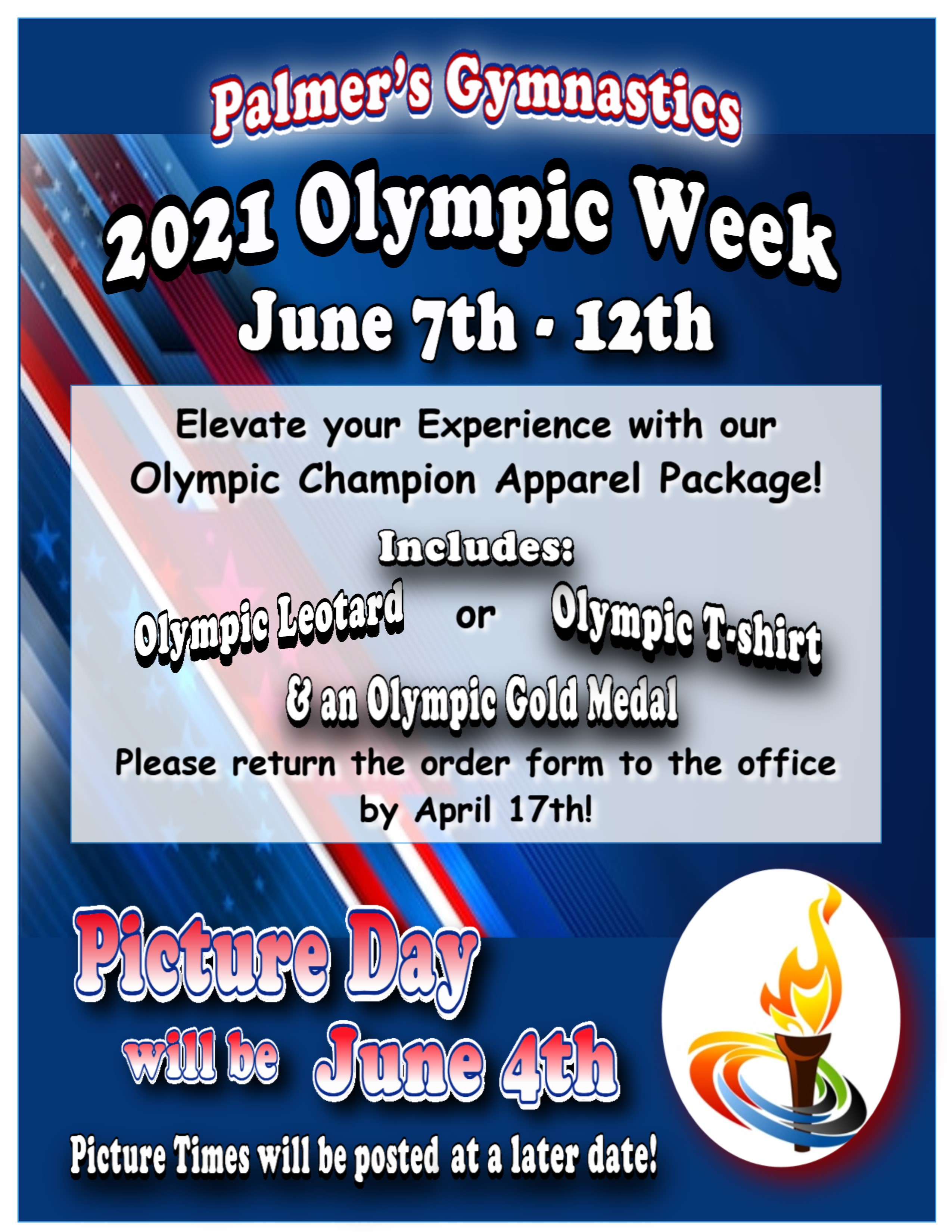 Olympic Champion Package 2021 Flyer